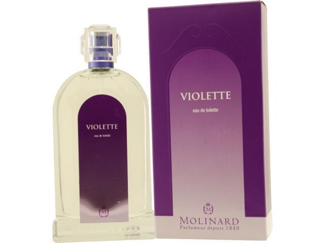 LES FLEURS VIOLETTE by Molinard EDT SPRAY 3.3 OZ for WOMEN