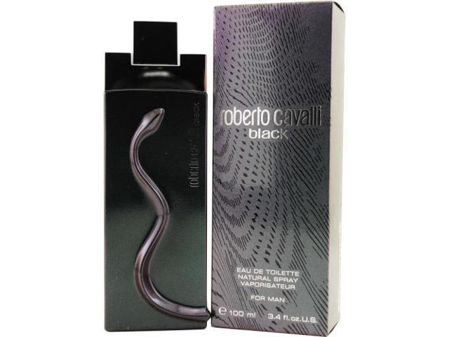ROBERTO CAVALLI BLACK by Roberto Cavalli EDT SPRAY 3.4 OZ for MEN