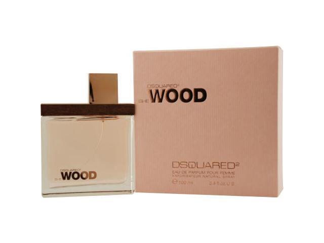 SHE WOOD by Dsquared2 EAU DE PARFUM SPRAY 3.4 OZ for WOMEN