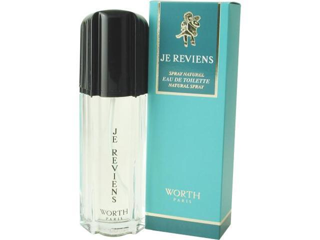 JE REVIENS by Worth EDT SPRAY 2.5 OZ for WOMEN