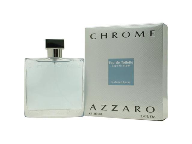 CHROME by Azzaro EDT SPRAY 3.4 OZ for MEN