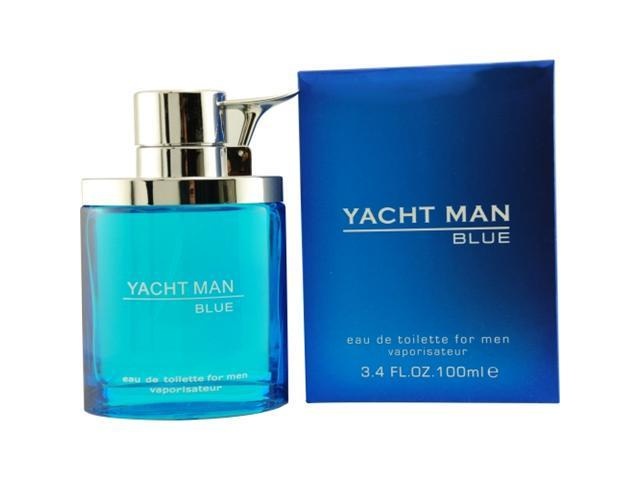 Yacht Man Blue - 3.4 oz EDT Spray