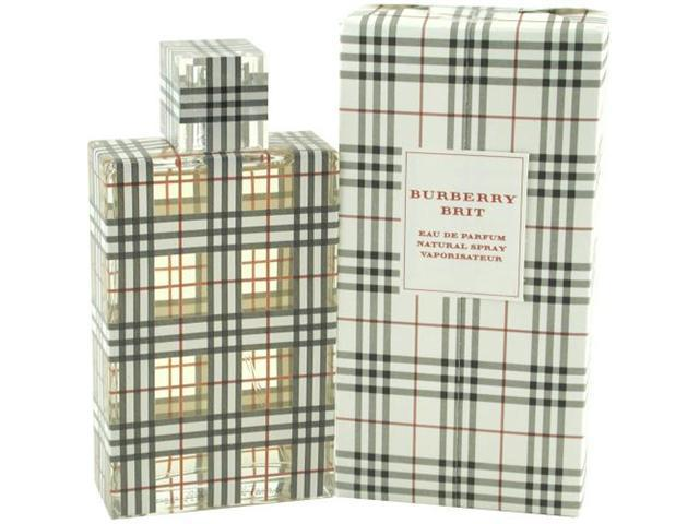 BURBERRY BRIT by Burberry EAU DE PARFUM SPRAY 3.4 OZ for WOMEN