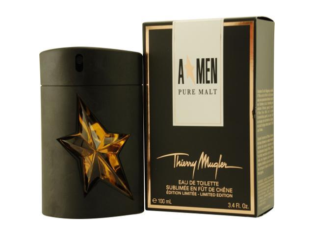 ANGEL MEN PURE MALT by Thierry Mugler EDT SPRAY 3.4 OZ (LIMITED EDITION) for MEN