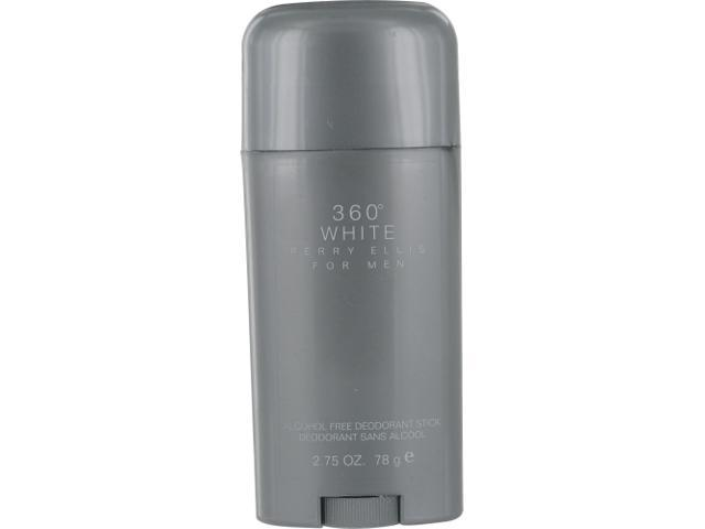 PERRY ELLIS 360 WHITE by Perry Ellis DEODORANT STICK ALCOHOL FREE 2.75 OZ for MEN