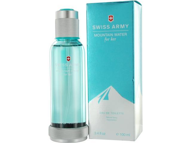 SWISS ARMY MOUNTAIN WATER by Victorinox EDT SPRAY 3.4 OZ for WOMEN