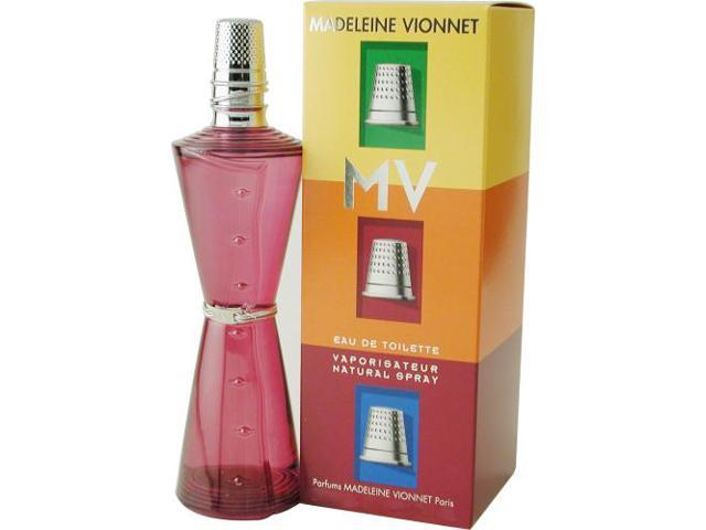 MADELEINE VIONNET MV by Madeleine Vionnet EDT SPRAY 3.4 OZ for WOMEN