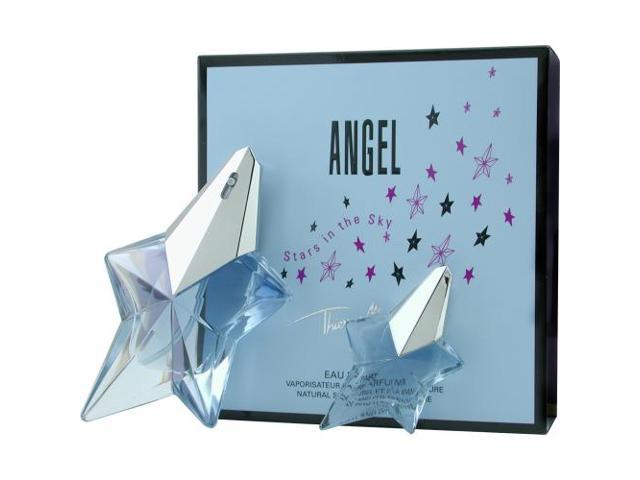 ANGEL by Thierry Mugler EAU DE PARFUM SPRAY .8 OZ & EAU DE PARFUM .17 OZ MINI (TRAVEL OFFER) for WOMEN