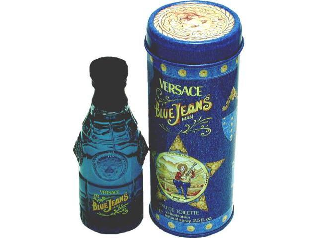 BLUE JEANS by Gianni Versace EDT SPRAY 2.5 OZ (NEW PACKAGING) for MEN