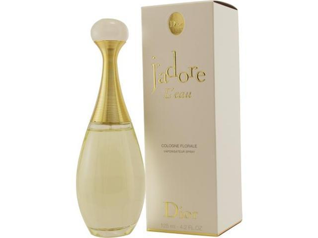 JADORE L'EAU by Christian Dior COLOGNE FLORAL SPRAY 4.2 OZ for WOMEN