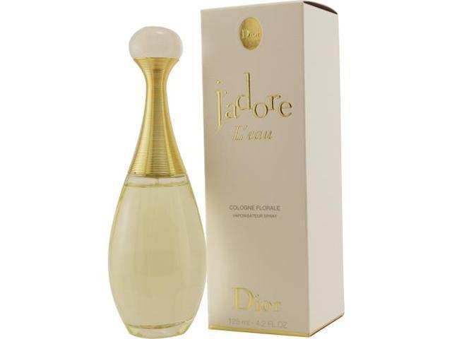 JADORE L'EAU by Christian Dior COLOGNE FLORAL SPRAY 4.2 OZ for WOMEN