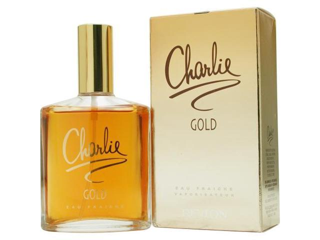 CHARLIE GOLD by Revlon EAU FRAICHE SPRAY 3.4 OZ for WOMEN