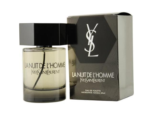 LA NUIT DE L'HOMME YVES SAINT LAURENT by Yves Saint Laurent EDT SPRAY 2 OZ for MEN