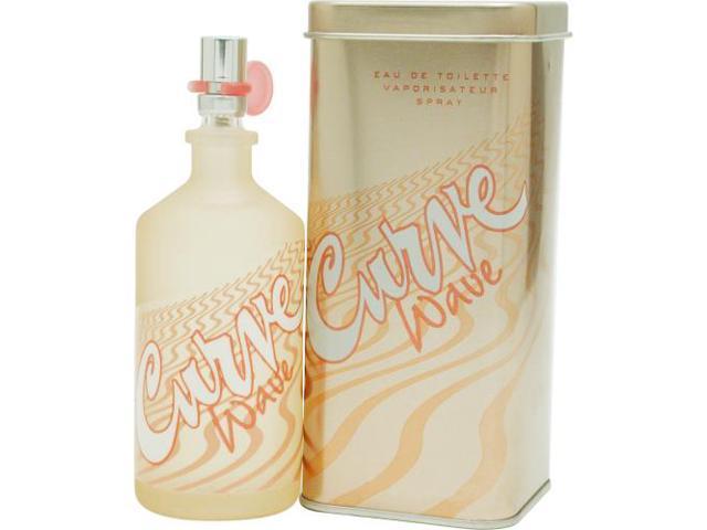 CURVE WAVE by Liz Claiborne EDT SPRAY 3.4 OZ for WOMEN