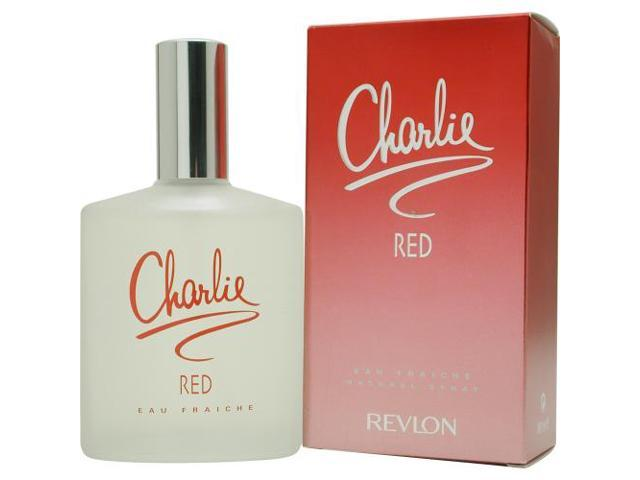 CHARLIE RED by Revlon EAU FRAICHE SPRAY 3.4 OZ for WOMEN