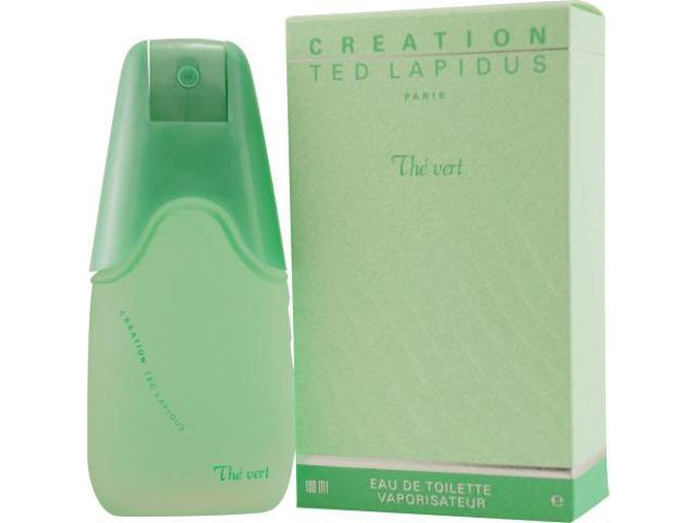 CREATION THE VERT by Ted Lapidus EDT SPRAY 3.4 OZ for WOMEN