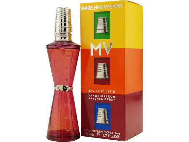 MADELEINE VIONNET MV by Madeleine Vionnet EDT SPRAY 1.7 OZ for WOMEN