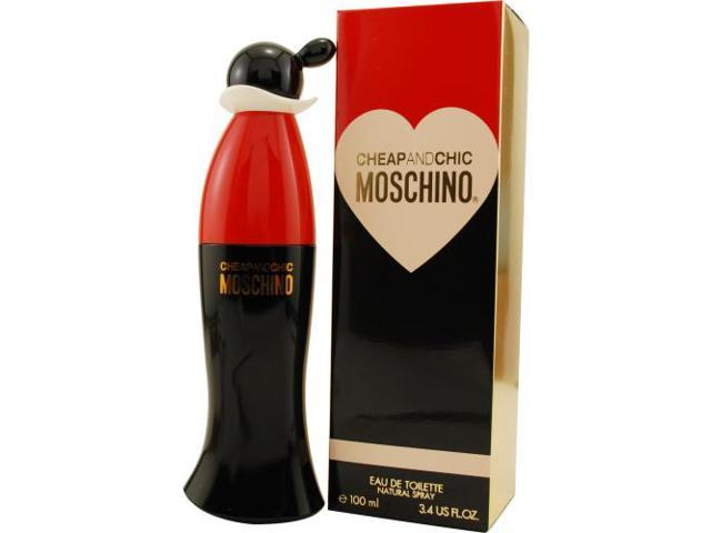 CHEAP & CHIC by Moschino EDT SPRAY 3.4 OZ for WOMEN