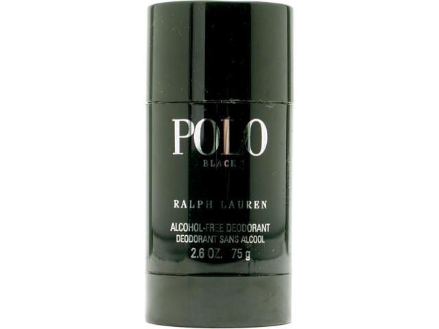 POLO BLACK by Ralph Lauren DEODORANT STICK ALCOHOL FREE 2.6 OZ for MEN