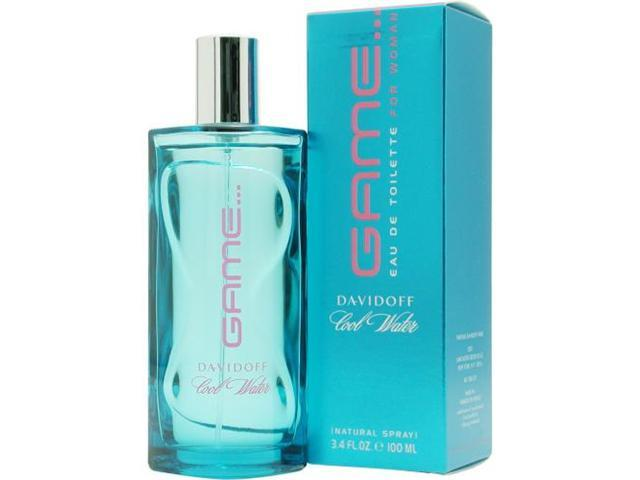 COOL WATER GAME by Davidoff EDT SPRAY 3.4 OZ for WOMEN