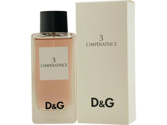 D & G 3 L'IMPERATRICE by Dolce & Gabbana EDT SPRAY 3.3 OZ for WOMEN