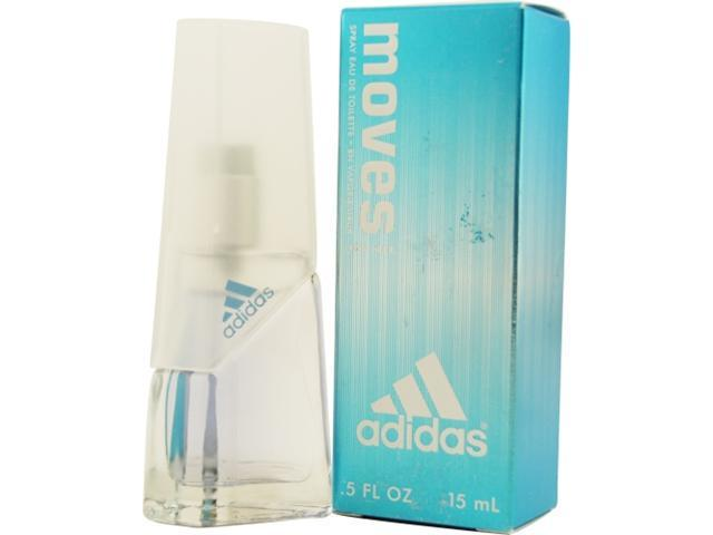 ADIDAS MOVES by Adidas EDT SPRAY .5 OZ for WOMEN