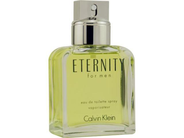 ETERNITY by Calvin Klein EDT SPRAY 3.4 OZ (UNBOXED) for MEN