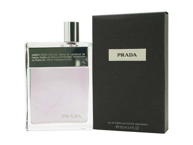 Prada by Prada EDT SPRAY 3.4 OZ (AMBER) for MEN