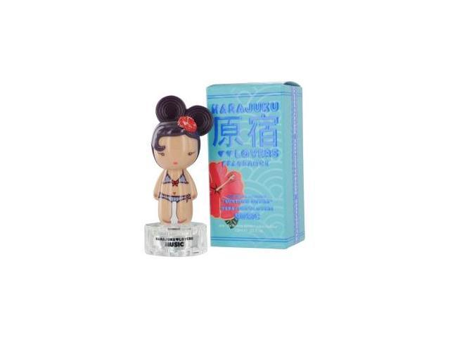 HARAJUKU LOVERS SUNSHINE CUTIES MUSIC by Gwen Stefani EDT SPRAY .33 OZ for WOMEN