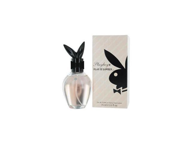 PLAYBOY PLAY IT LOVELY by Playboy EDT SPRAY 2.5 OZ for WOMEN