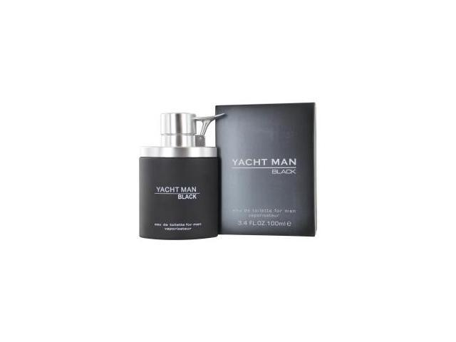 YACHT MAN BLACK by Myrurgia EDT SPRAY 3.4 OZ for MEN