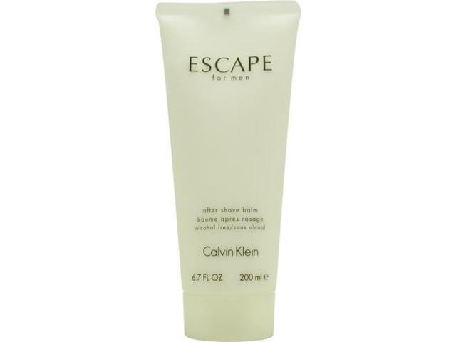 Escape by Calvin Klein Aftershave Balm 6.7 Oz for Men