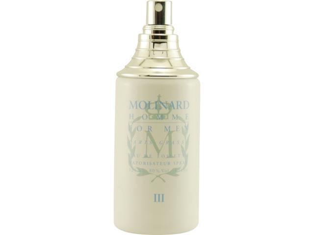 Molinard Iii by Molinard EDT Spray 4 Oz *Tester for Men