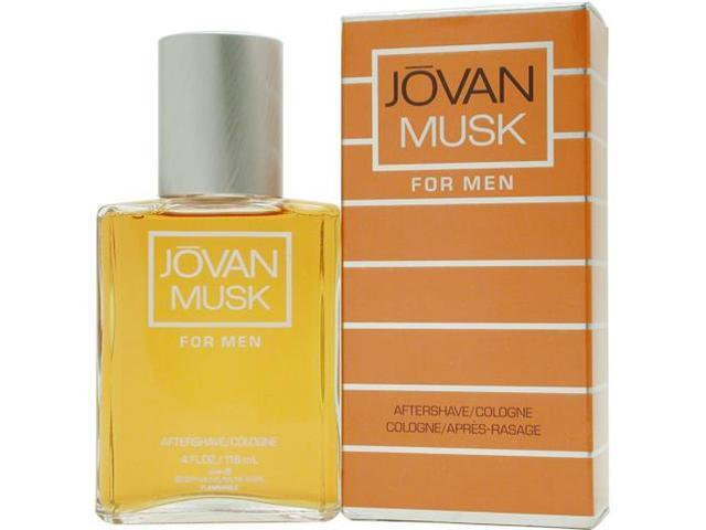 Jovan Musk by Jovan Aftershave Cologne 4 Oz for Men