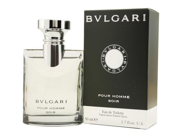 Bvlgari Pour Homme Soir by Bvlgari EDT Spray 1.7 Oz for Men