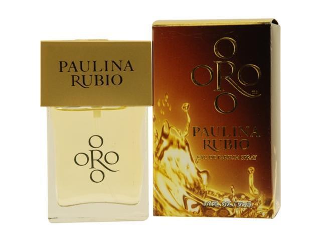 Oro By Paulina Rubio By Paulina Rubio Eau De Parfum Spray 1 Oz For Women