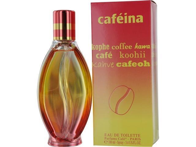 Cafe Cafeina By Cofinluxe Edt Spray 3.4 Oz