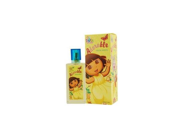 Dora The Explorer By Compagne Europeene Parfums  Adorable Edt Spray 3.4 Oz For Women