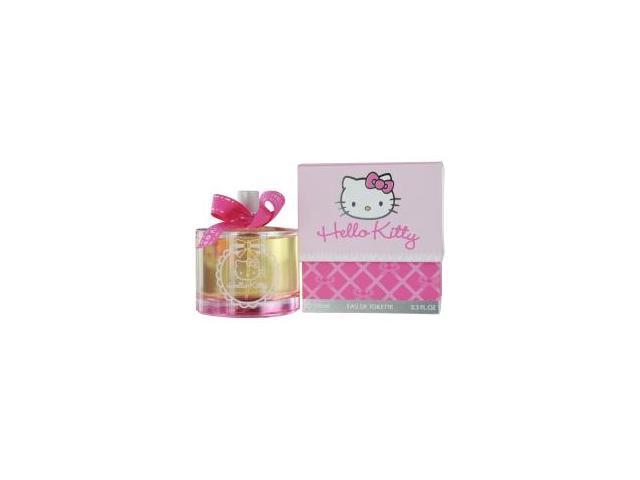 Hello Kitty By Sanrio Co.  Edt Spray 3.3 Oz For Women