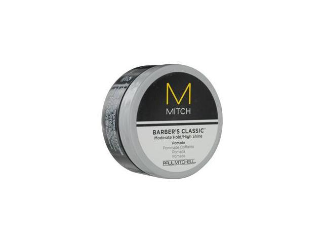 Paul Mitchell Men By Paul Mitchell Mitch Barber'S Classic Moderate Hold/High Shine Pomade 3 Oz