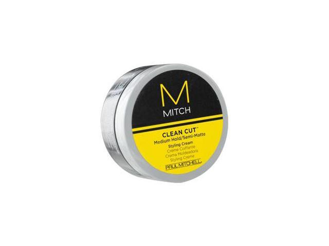 Paul Mitchell Men By Paul Mitchell Mitch Clean Cut Medium Hold/Semi-Matte Styling Cream 3 Oz