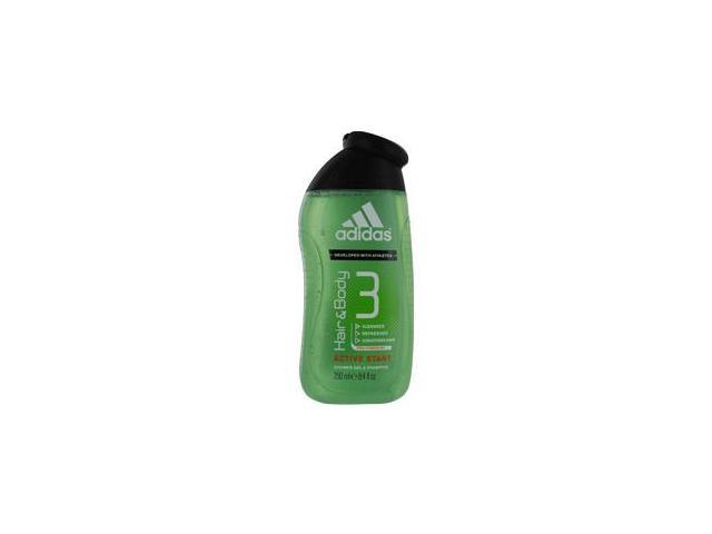 Adidas Hair And Body 3 By Adidas Active Star Shower Gel & Shampoo 8.4 Oz (Developed With Athletes)
