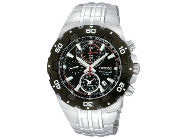 Seiko Alarm Chronograph Mens Watch SNAD35