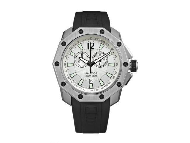 Nautica NVL100 Black Resin Mens Watch N24515G