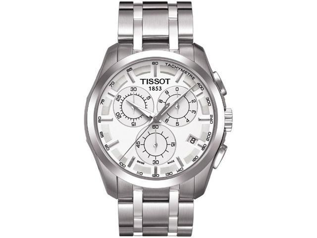 Tissot Couturier Stainless Steel Mens Watch T0356171103100