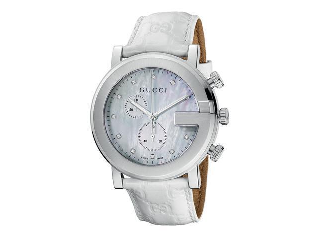 Gucci 101 G-Round Chronograph Watch YA101342