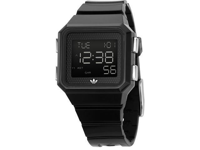 Adidas Peachtree Black Polyurethane Chronograph Watch ADH4003