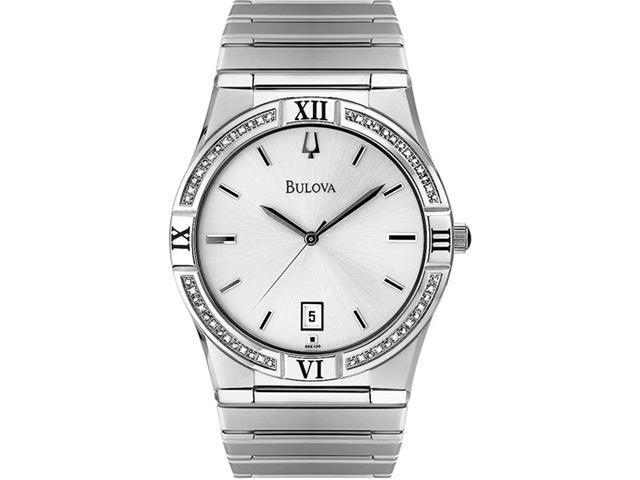 Bulova Diamond Mens Watch 96E100