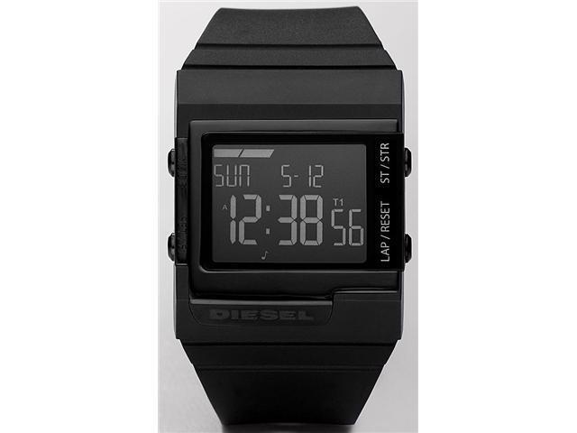 Diesel Black Digital Dial Mens Watch DZ7150
