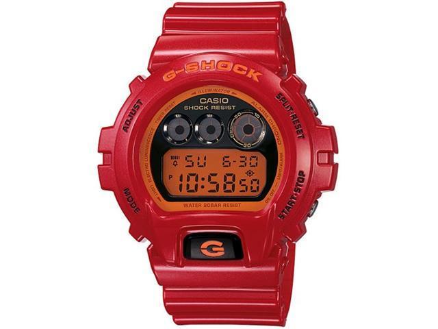 Casio Red G-Shock Digital Mens Watch DW6900CB-4